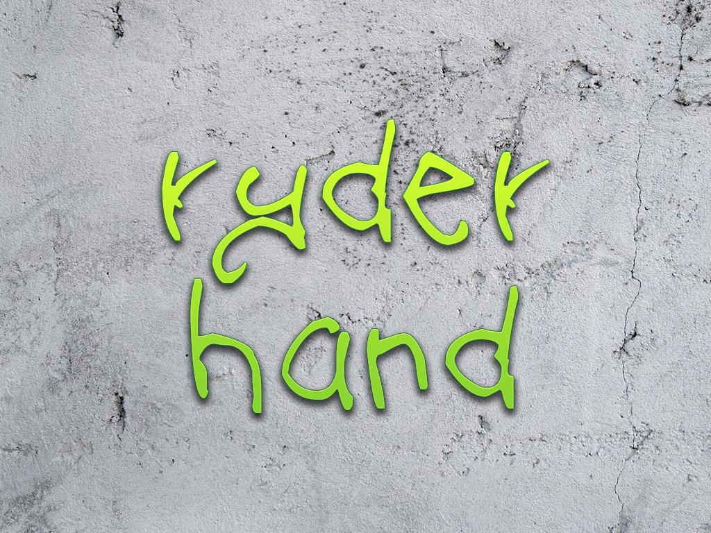 t-ryder font package